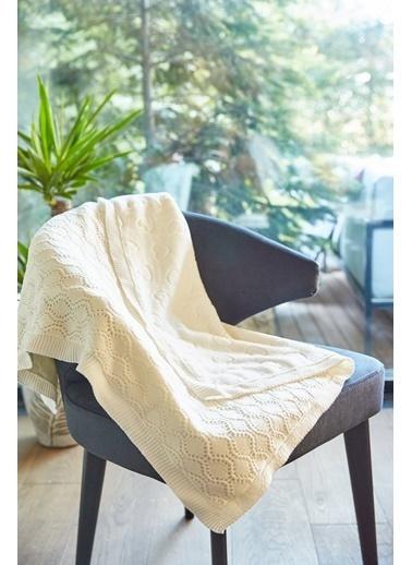 Arma Baby's Çift Taraflı Beyaz Havlu Battaniye 90 x 110 Beyaz